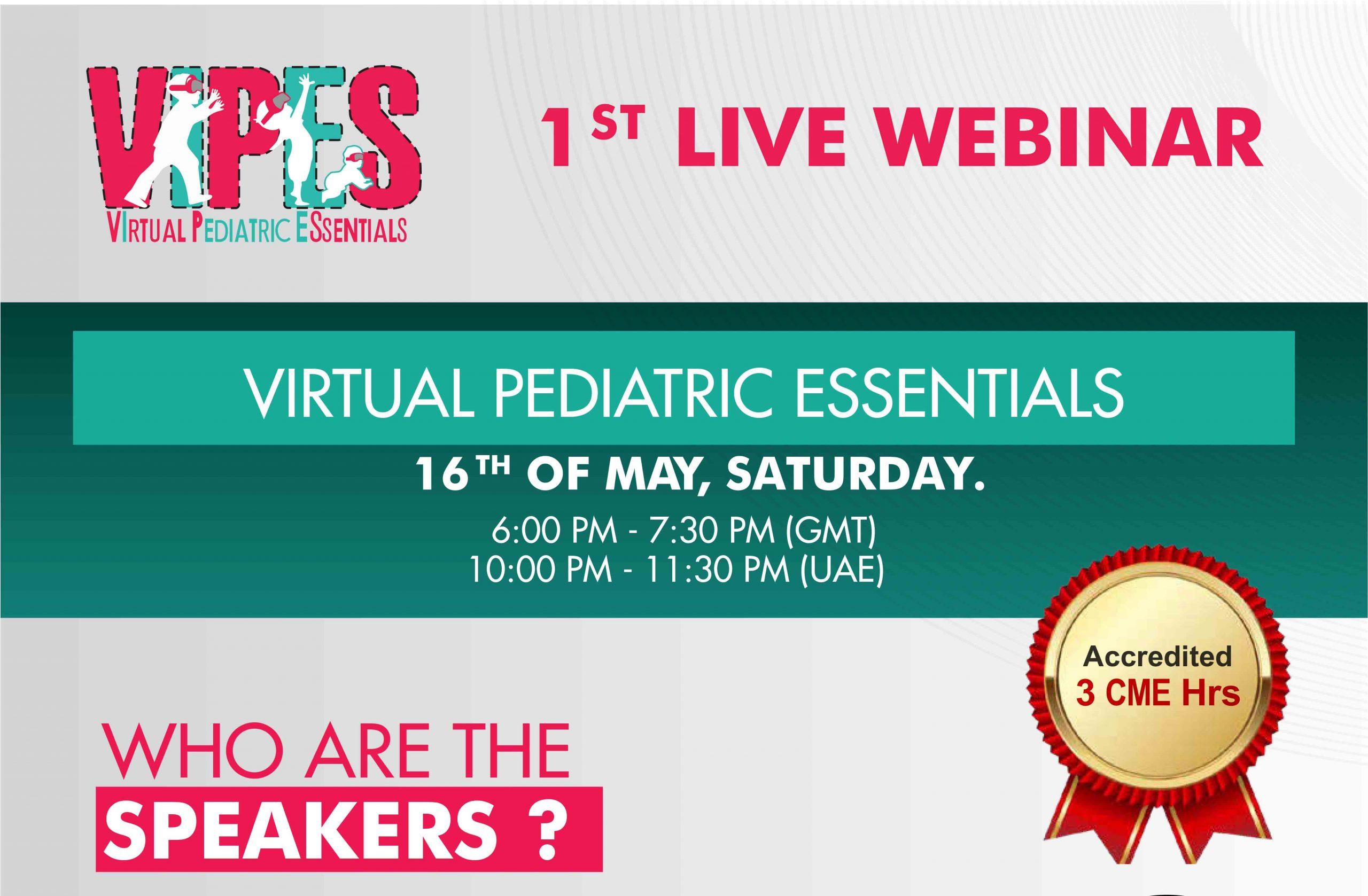 VIPES 1st Live Webinar