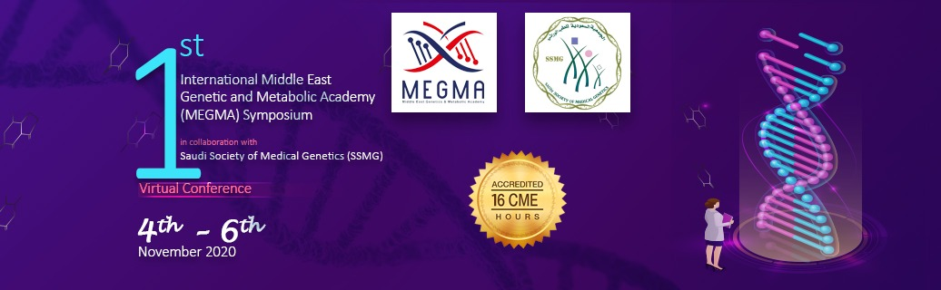 1st International Middle East Genetic and Metabolic Academy (MEGMA) Symposium